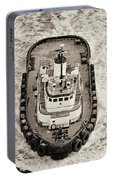 Tugboat In San Francisco Bay Portable Battery Charger