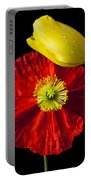 Tulip And Iceland Poppy Portable Battery Charger by Garry Gay