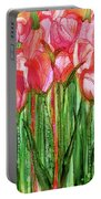Tulip Bloomies 2 - Red Portable Battery Charger