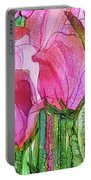 Tulip Bloomies 4 - Pink Portable Battery Charger