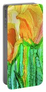 Tulip Bloomies 4 - Yellow Portable Battery Charger