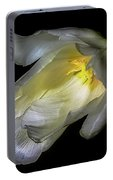 Tulip In Relief Portable Battery Charger