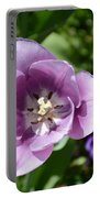 Tulip Lavender Portable Battery Charger