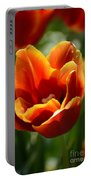 Tulip On Fire Portable Battery Charger