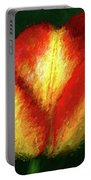 Tulip Painting Portable Battery Charger