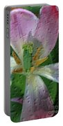Tulip Passing Beauty Portable Battery Charger