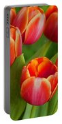 Tulip Patch Portable Battery Charger