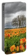 Tulip Rows Portable Battery Charger