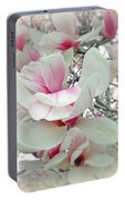 Tulip Tree Blossoms - Magnolia Liliiflora Portable Battery Charger