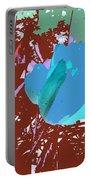 Tulipani Blu E Corallo Portable Battery Charger