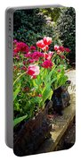 Tulips And Bench Portable Battery Charger