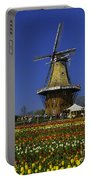 Tulips At The Windmill Portable Battery Charger