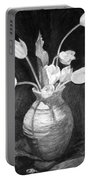 Tulips In A Vase Portable Battery Charger