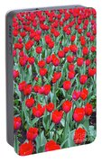 Tulips In Kristiansund, Norway Portable Battery Charger