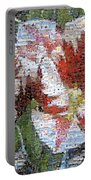 Tulips In Springtime Photomosaic Portable Battery Charger