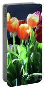 Tulips In The Light Portable Battery Charger