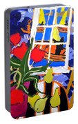 Tulips, Pears, Sailboats Portable Battery Charger