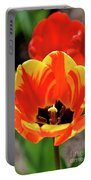 Tulips Yellow Red Portable Battery Charger