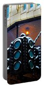 Tulsa Deco In The Snow Portable Battery Charger