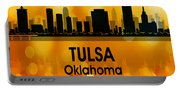 Tulsa Ok 3 Squared Portable Battery Charger