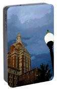 Tulsa Streetscape Portable Battery Charger