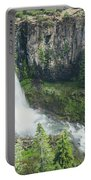 Tumalo Falls Portable Battery Charger by Margaret Pitcher