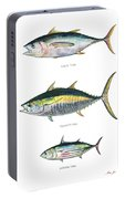 Tuna Fishes Portable Battery Charger
