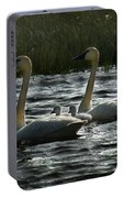 Tundra Swans Portable Battery Charger