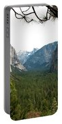 Tunnel View Framed Portable Battery Charger