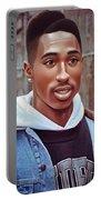 Tupac Shakur Drawing Portable Battery Charger
