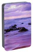 Turbulent Daybreak Seascape Portable Battery Charger
