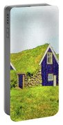Turf Huts In Skaftafell Portable Battery Charger