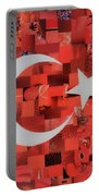 Turkey Flag Portable Battery Charger