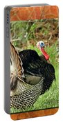 Turkey Strut Portable Battery Charger