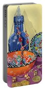 Turkish Still Life Portable Battery Charger