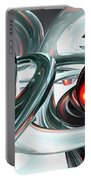 Turmoil Abstract Portable Battery Charger