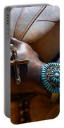 Turquoise Bracelet  Portable Battery Charger by Susanne Van Hulst