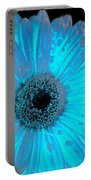 Turquoise Burn Portable Battery Charger