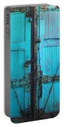 Turquoise Doors Portable Battery Charger