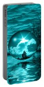 Turquoise Dreams Portable Battery Charger