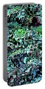 Turquoise Garden Of Glass Portable Battery Charger