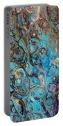 Turquoise Intrigue Portable Battery Charger