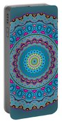 Turquoise Necklace Mandala Portable Battery Charger