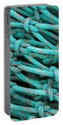 Turquoise Nets Portable Battery Charger