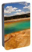 Turquoise Pool  Portable Battery Charger