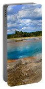 Turquoise Pool, Yellowstone Portable Battery Charger