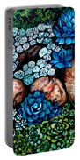 Turquoise Stone Portable Battery Charger