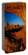 Turret Arch Through North Window Portable Battery Charger