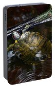 Turtle And The Stick Portable Battery Charger