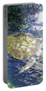 Turtle Water Glide Portable Battery Charger